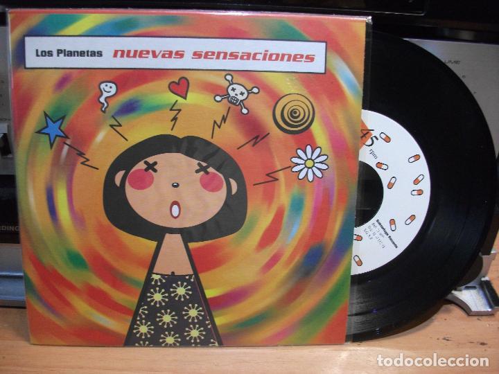 LOS PLANETAS NUEVAS SENSACIONES EP SPAIN 1995 PEPETO TOP (Música - Discos de Vinilo - EPs - Grupos Españoles de los 90 a la actualidad)