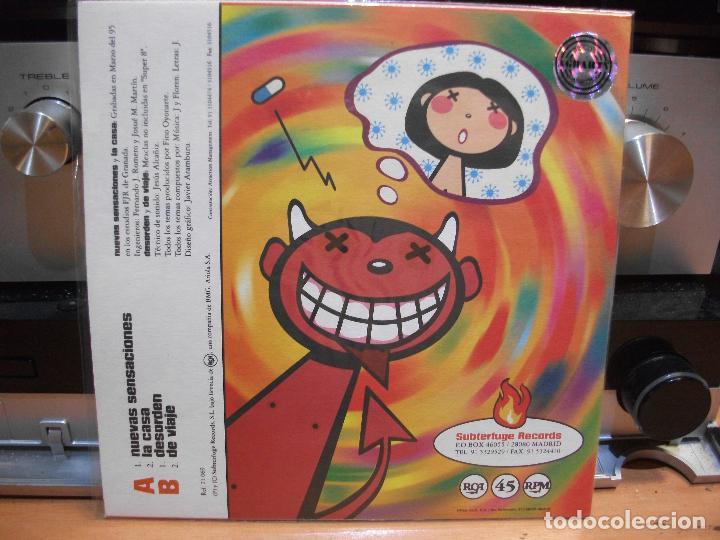 Discos de vinilo: LOS PLANETAS NUEVAS SENSACIONES EP SPAIN 1995 PEPETO TOP - Foto 2 - 208218810