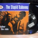 Discos de vinilo: THE STUPID BABOONS OCTOBER IN THE RAIN + 2 EP SPAIN 1994 PEPETO TOP. Lote 119720059