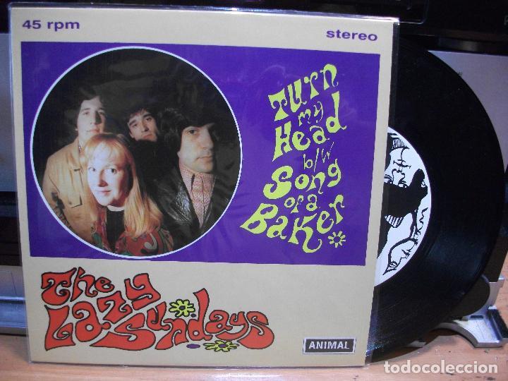 THE LAZY SUNDAYS TURN MY HEAD +1 SINGLE SPAIN 1994 PEPETO TOP (Música - Discos - Singles Vinilo - Grupos Españoles de los 90 a la actualidad)