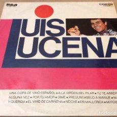 Discos de vinilo: LUIS LUCENA. UNA COPA DE VINO ESPAÑOL Y OTRAS. 1970. . Lote 119780235