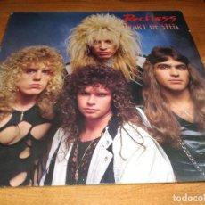 Discos de vinilo: LP RECKLESS - HEART OF STEEL. Lote 119838659
