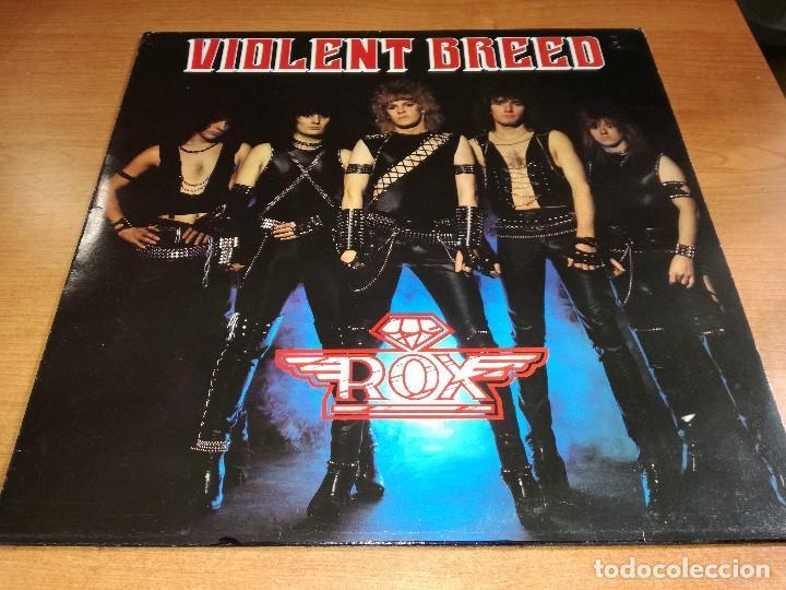 LP ROX - VIOLENT BREED (Música - Discos - LP Vinilo - Heavy - Metal)