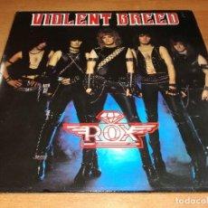 Discos de vinilo: LP ROX - VIOLENT BREED. Lote 119838767