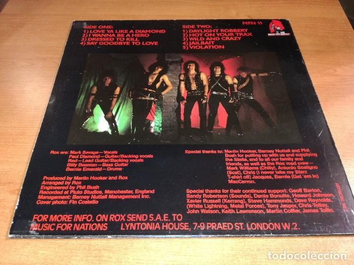 Discos de vinilo: LP Rox - Violent Breed - Foto 2 - 119838767