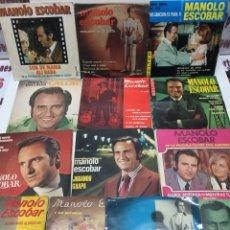 Discos de vinilo: LOTE 13 VINILOS MANOLO ESCOBAR. Lote 119857655