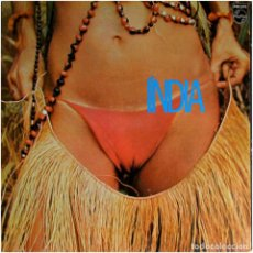 Discos de vinilo: GAL COSTA - INDIA - LP BRAZIL 1982 (RE) - PHILIPS 6328 495. Lote 119869919