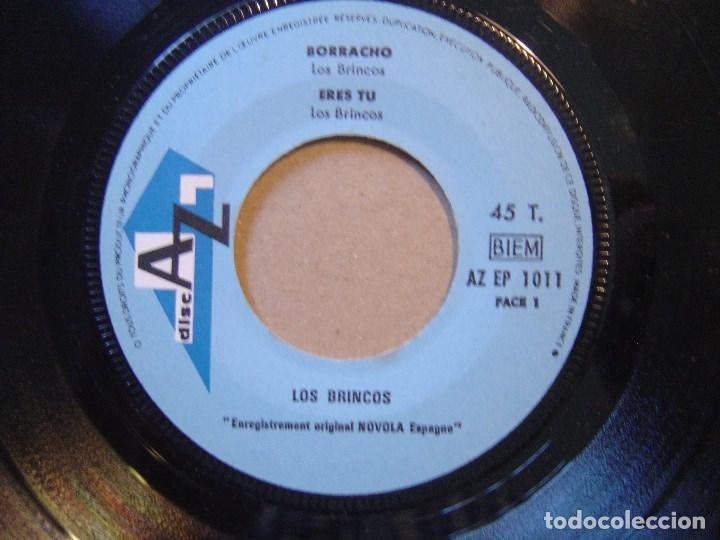 LOS BRINCOS - BORRACHO - EP FRANCES DISC AZ (Música - Discos de Vinilo - EPs - Solistas Españoles de los 50 y 60)