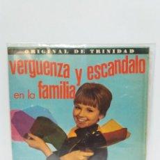 Discos de vinil: EP ** JUAN MONTEGO Y LA ORQUESTA KINGSTON * VERGUENZA Y ESCANDALO....* COVER/ VG+/EX * EP/ EXCELLENT. Lote 119882007