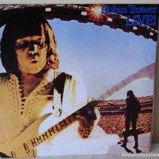 Discos de vinilo: ROBIN TROWER - LIVE CHRYSALIS - 1981. Lote 119882615