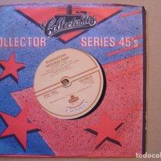 Discos de vinilo: MORRIS ALBERT FEELINGS + BLOODSTONE NATURAL HIGH - SINGLE UK 45 OLD GOLD - 1983. Lote 119883415