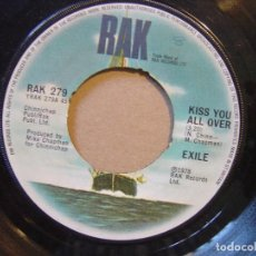 Discos de vinilo: EXILE - THERE´S BEEN A CHANGE / KISS YOU ALL OVER - SINGLE UK RAK - 1978. Lote 119884835