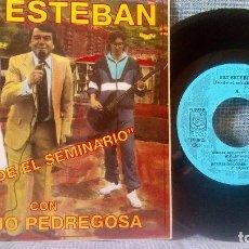 Discos de vinilo: FAT ESTEBAN CON JUANJO PEDREGOSA - DESDE EL SEMINARIO + 3 EP DE 1992 POSTER GIGANTE - NUEVO SIN USO. Lote 119887711