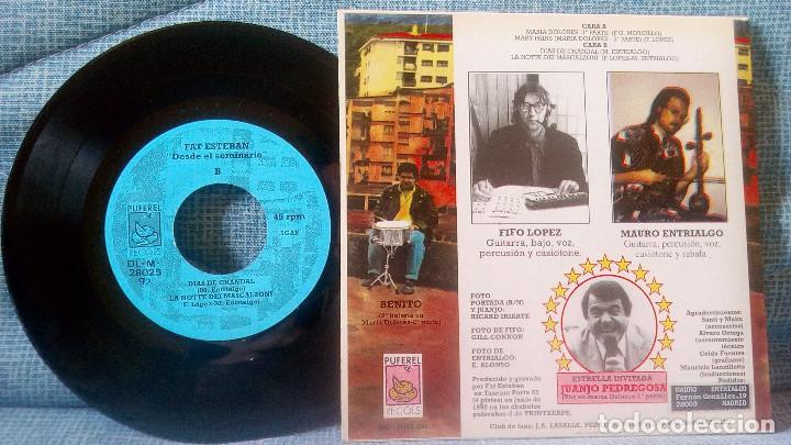 Discos de vinilo: FAT ESTEBAN CON JUANJO PEDREGOSA - DESDE EL SEMINARIO + 3 EP DE 1992 POSTER GIGANTE - NUEVO SIN USO - Foto 2 - 119887711