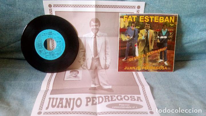 Discos de vinilo: FAT ESTEBAN CON JUANJO PEDREGOSA - DESDE EL SEMINARIO + 3 EP DE 1992 POSTER GIGANTE - NUEVO SIN USO - Foto 3 - 119887711