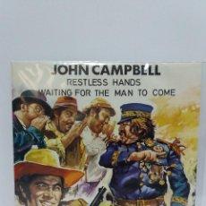 Discos de vinilo: SINGLE ** JOHN CAMPBELL ** RESTLESS HADS ** COVER/ MINT ** SING/ NEAR MINT / MINT ** 1972. Lote 119891355