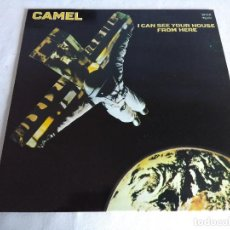 Discos de vinilo: VINILO LP/CAMEL/I CAN SEE YOUR HOUSE FROM HERE.. Lote 119893135