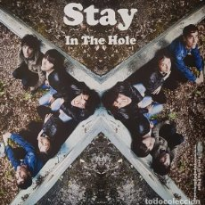 Discos de vinilo: SINGLE STAY- IN THE HOLE / THE SLINGSHOTS CRANKY HONKY VINILO. Lote 119893699
