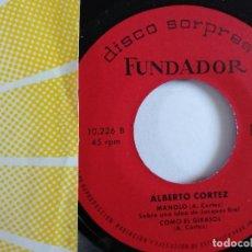 Discos de vinilo: EP - FUNDADOR - ALBERTO CORTEZ. Lote 119899223