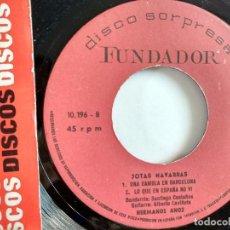 Discos de vinilo: EP - FUNDADOR - JOTAS NAVARRAS. Lote 119899935