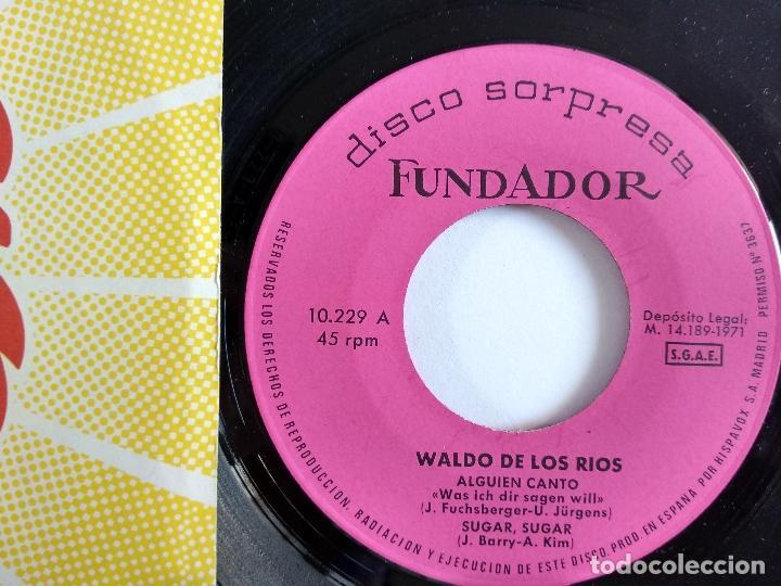 EP - FUNDADOR - WALDO DE LOS RIOS (Música - Discos de Vinilo - EPs - Otros estilos)