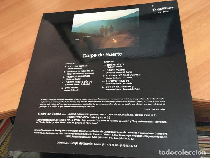 Discos de vinilo: GOLPE DE SUERTE LP ESPAÑA 1993 (VIN-A1) - Foto 3 - 119900315