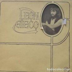 Discos de vinilo: LEON GIECO - 1ER LP - LP RARO DE FOLK ROCK PROGRESIVO ARGENTINO . Lote 119902343