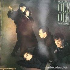 Discos de vinilo: OLE OLE - DESATAME - MAXI SINGLE EDICION PROMOCIONAL. Lote 119904907