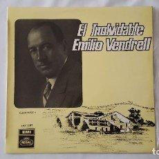 Discos de vinilo: LP - EL INOLVIDABLE EMILIO VENDRELL. Lote 119917511