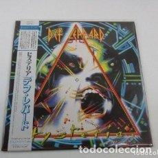 Discos de vinilo: LP HEAVY JAPONES DE DEF LEPPARD - HYSTERIA. Lote 119925919