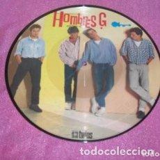 Discos de vinilo: HOMBRES G EXITOS PICTURE MADE IN SPAIN 1986 LP. Lote 160774580