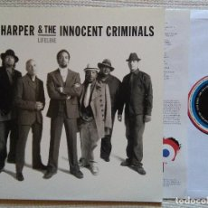 Discos de vinilo: BEN HARPER & THE INNOCENT CRIMINALS - '' LIFELINE '' LP + INNER GATEFOLD SPECIAL EDITION 180GR. EU. Lote 119945971