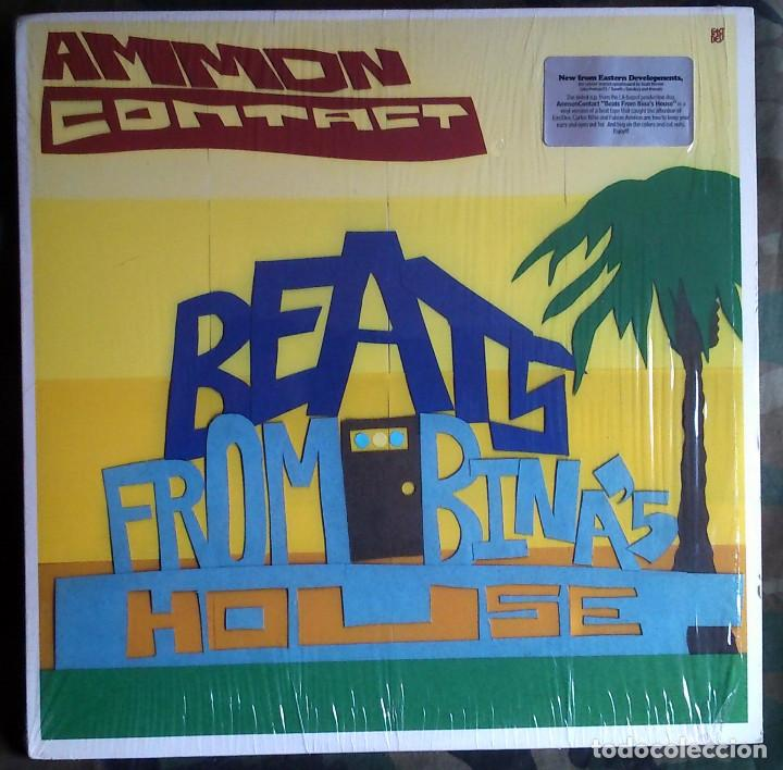 AMMONCONTACT – BEATS FROM BINA'S HOUSE EASTERN DEVELOPMENTS USA 2003 HIP HOP BREAKS, EXPERIMENTAL (Música - Discos de Vinilo - EPs - Rap / Hip Hop	)