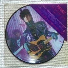 Discos de vinilo: PRINCE - '' LITTLE RED CORVETTE / 1999 '' 7'' LIMITED PICTURE SINGLE 1ST PRESSING 1983 UK. Lote 119956503