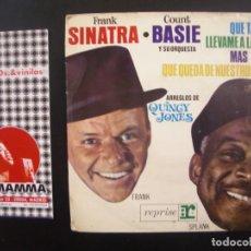 Discos de vinilo: FRANK SINATRA, COUNT BASIE- QUE TAL DOLLY? EP. Lote 119961707