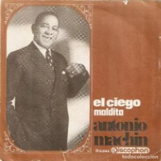 Discos de vinilo: VENDO SINGLE DE ANTONIO MACHIN, AÑO 1968 (MAS INFORMACIÓN EN EL INTERIOR).. Lote 119967615