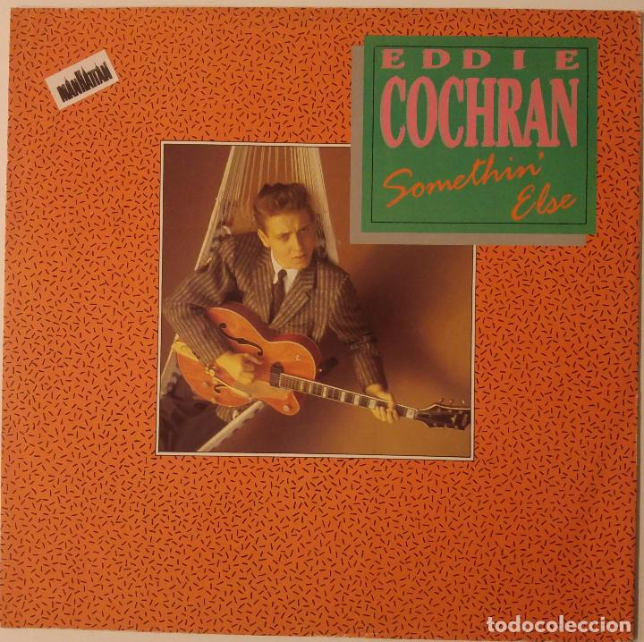 EDDIE COCHRAN... SOMETHIN' ELSE.(LIBERTY 1988).UK (Música - Discos de Vinilo - Maxi Singles - Rock & Roll)
