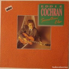 Discos de vinilo: EDDIE COCHRAN... SOMETHIN' ELSE.(LIBERTY 1988).UK. Lote 119975315
