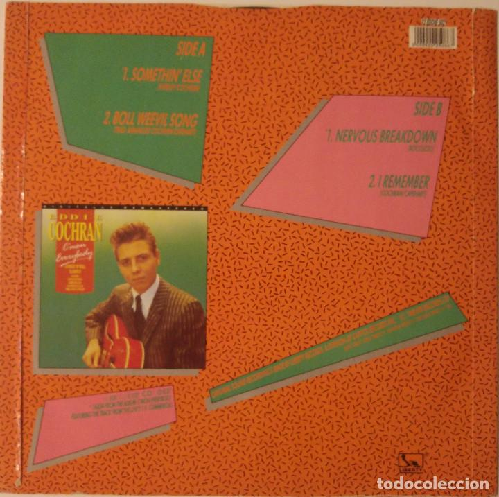 Discos de vinilo: Eddie Cochran... Somethin' Else.(liberty 1988).Uk - Foto 2 - 119975315