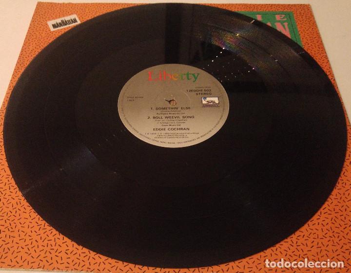 Discos de vinilo: Eddie Cochran... Somethin' Else.(liberty 1988).Uk - Foto 3 - 119975315