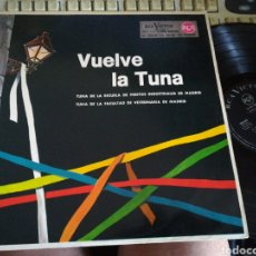 Discos de vinilo: VUELVE LA TUNA LP 1962. Lote 119986668