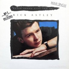 Dischi in vinile: RICK ASTLEY - NEVER GONNA GIVE YOU UP - RCA - PT-41448 SPAIN. Lote 119989199