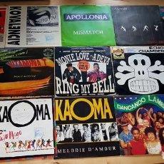 Discos de vinilo: SINGLE DE DANCE DE LOS 80 . Lote 119992419