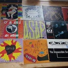 Discos de vinilo: LOTE SINGLES MUSICA DANCE DE LOS 80. Lote 119994411