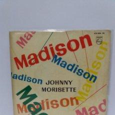 Discos de vinilo: EP ** JOHNNY MORISETTE ** MADISON TWIST ** COVER/ERY GOOD+ /EXCELLENT ** EP/ EXCELLENT ** 1962. Lote 120022527