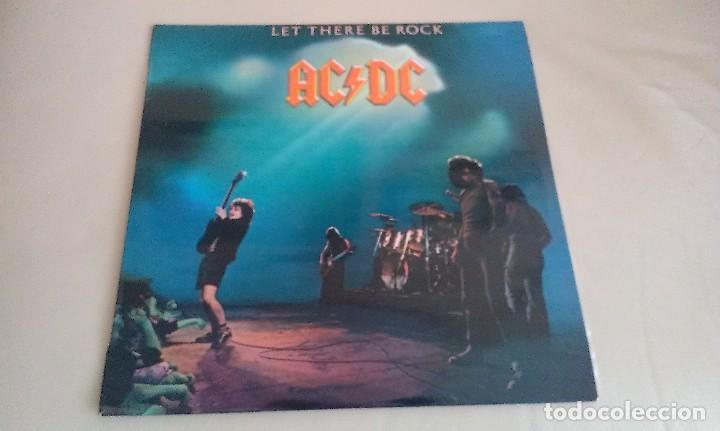 LP AC DC LET THERE BE ROCK HARD ROCK HEAVY METAL (Música - Discos - LP Vinilo - Heavy - Metal)
