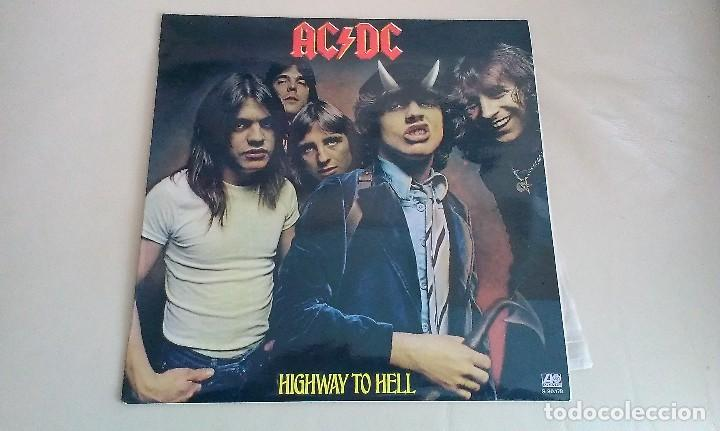 LP AC DC HIGHWAY TO HELL HARD ROCK HEAVY METAL (Música - Discos - LP Vinilo - Heavy - Metal)