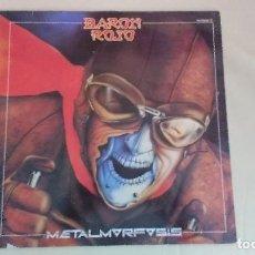 Discos de vinilo: LP BARON ROJO METAMORFOSIS HARD ROCK HEAVY METAL ESPAÑA. Lote 120031827