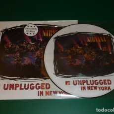 Discos de vinilo: NIRVANA UNPLUGGED IN NEW YORK PICTURE DISC EDICION LIMITADA. Lote 171512310