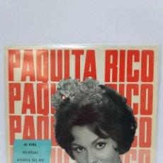 Discos de vinilo: EP ** PAQUITA RICO ** MI NIÑO ** COVER/ NEAR MINT / MINT ** EP/ NEAR MINT ** 1964. Lote 120055239